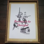 Half a Crown Illustration hand drawn Ian Dury Reasons to be Cheerful