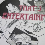 Half a Crown Illustrations That's Entertainment The Jam Hand drawn print
