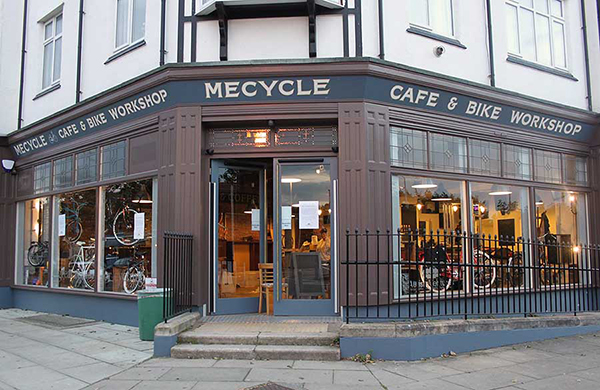MeCycle Cafe Front