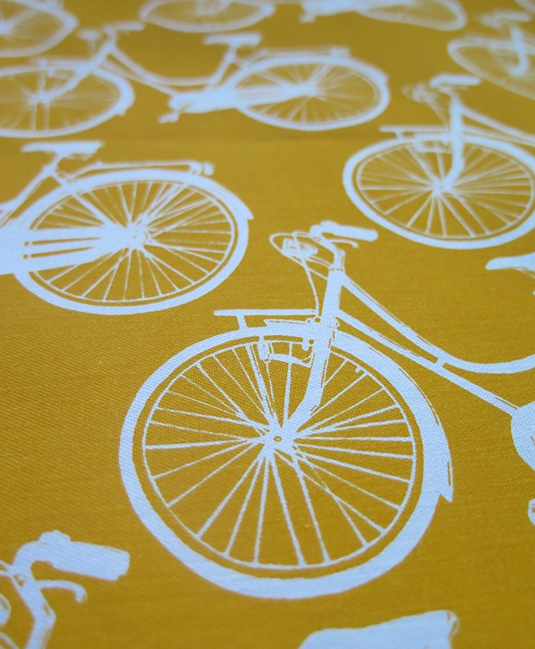 MeCycle Yellow Print 2