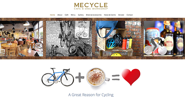 Mecycle Web page1